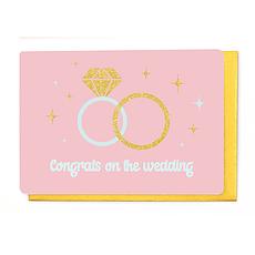Enfant Terrible Dubbele wenskaart Enfant terrible: congrats on the wedding