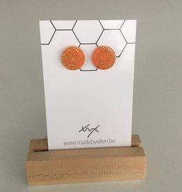 made by ellen Made by Ellen 142 steker goudfolie oranje