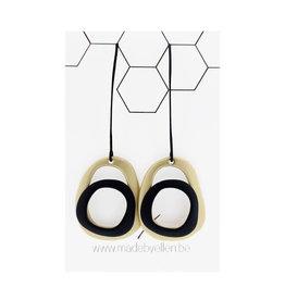 Made by ellen 152 hangers zwart en goud