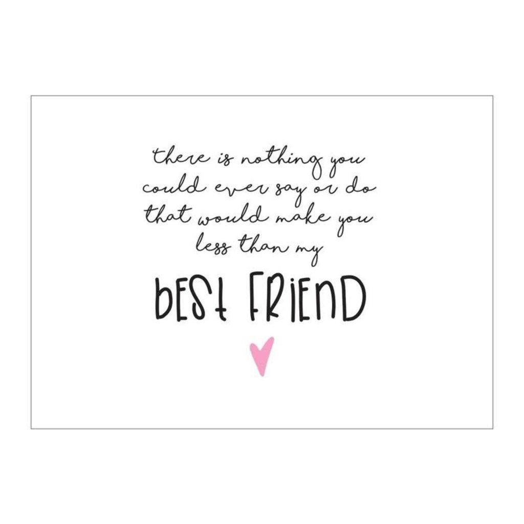 Made by ellen Made by ellen kaartje a6 best friend
