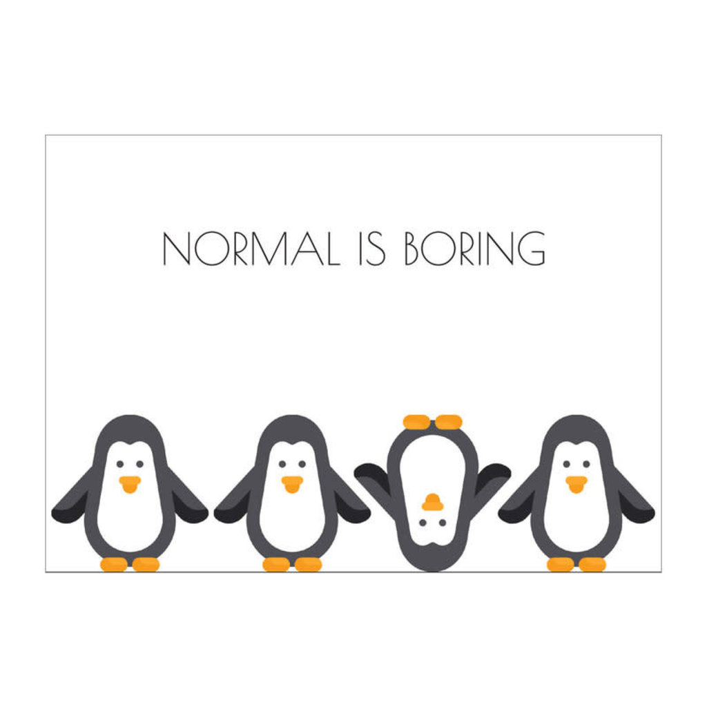 Made by ellen Made by ellen kaartje a6 normal is boring