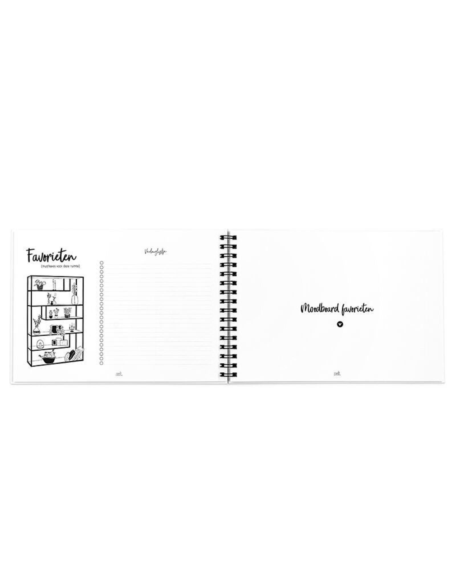 zoedt Zoedt Interieur styling invulboek