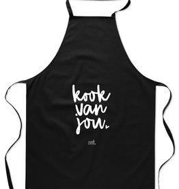 zoedt Zoedt Keukenschort: Kook van jou