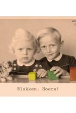 Ministerie van unieke zaken ministerie van unieke zaken kaart a6 Blokken. Hoera!