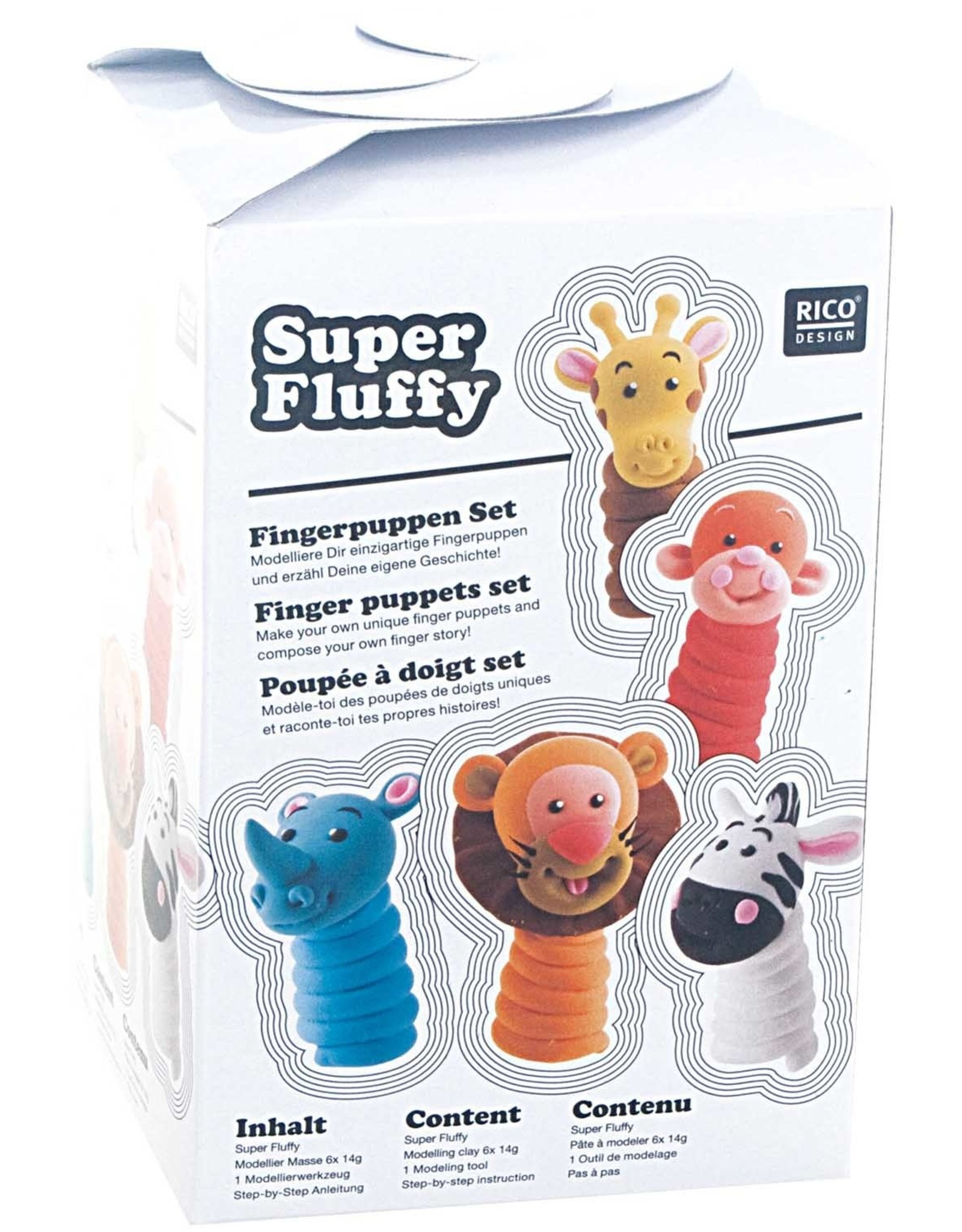 rico design rico design Super fluffy vingerpopjes
