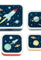 A little lovely company ALLC lunch & snackbox set: space