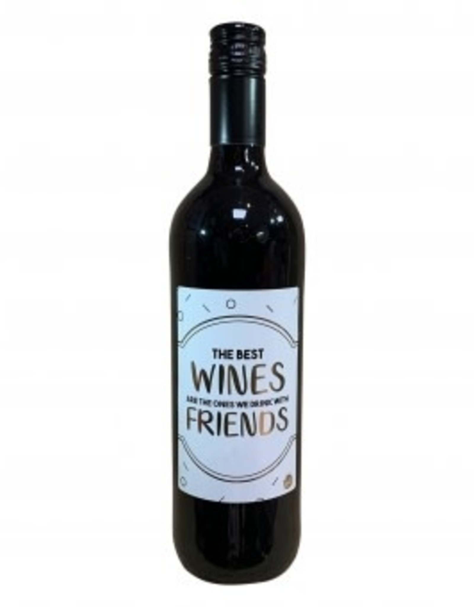 "The big gifts: wijnfles rood ""the best wines are ..."""