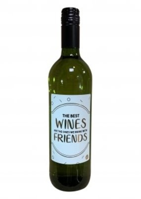 """The big gifts: wijnfles wit  """"the best wines are ..."""""""