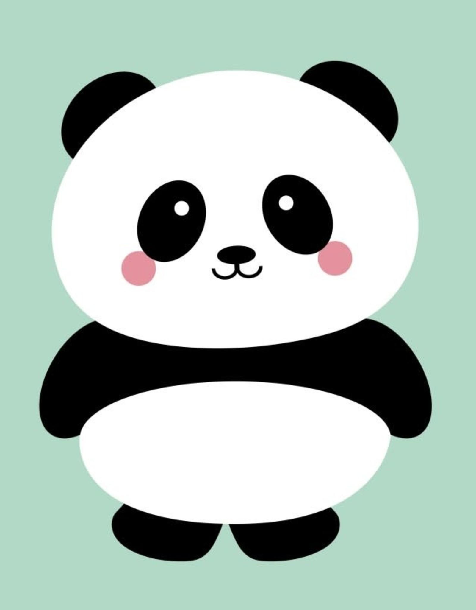 studio inktvis kaart a6 studio inktvis: panda