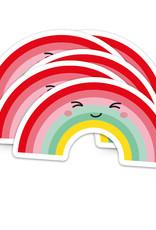 studio inktvis studio inktvis stickers XL regenboog