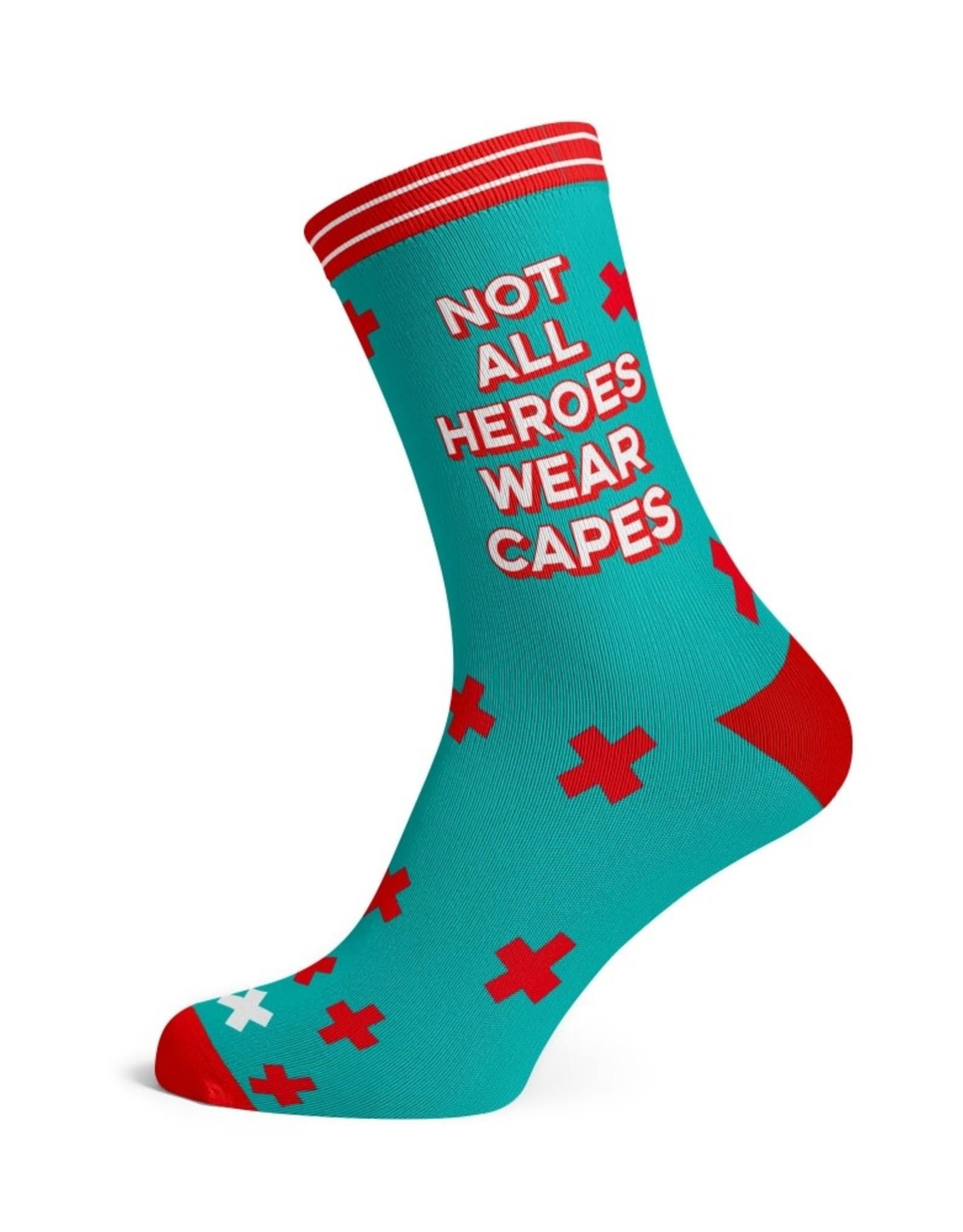 studio inktvis sokken not all heroes wear capes maat 32-46
