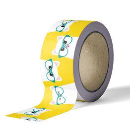 studio inktvis studio inktvis washi tape kat geel