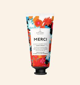 the gift label the gift label Hand cream tube merci