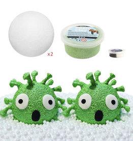 isomooi Isomooi: knutselset foam clay virus (2 stuks)