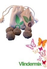 Zaadbom Zaadbom: 5 zaadbommen in een zakje: Vlindermix