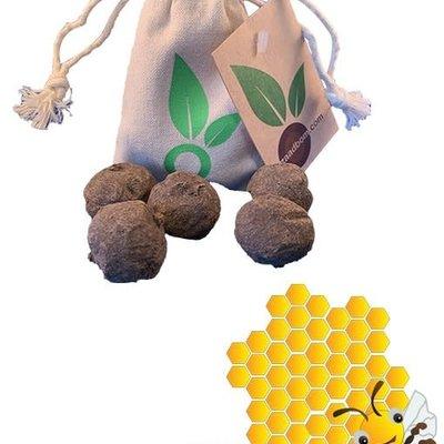 Zaadbom Zaadbom: 5 zaadbommen in een zakje: Bijenmix