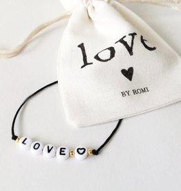 By romi By Romi Armbandje / Love
