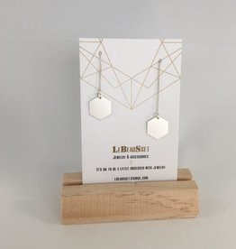 Lebeausset Lebeausset 078 hangers zilverkleurig