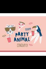 Enfant Terrible Dubbele wenskaart Enfant terrible: Party animal