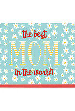 Enfant Terrible Dubbele wenskaart Enfant terrible: The best mom in the world