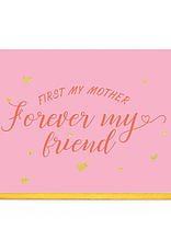 Enfant Terrible Dubbele wenskaart Enfant terrible: First my mother forever my friend