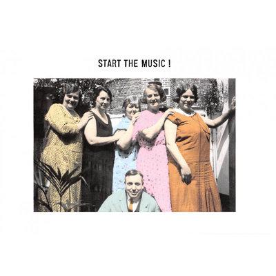 Kartoenfabriek Kartoenfabriek kaart a6 Start the music