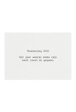 Mousie kaart a6 mousie: moederdag 2020