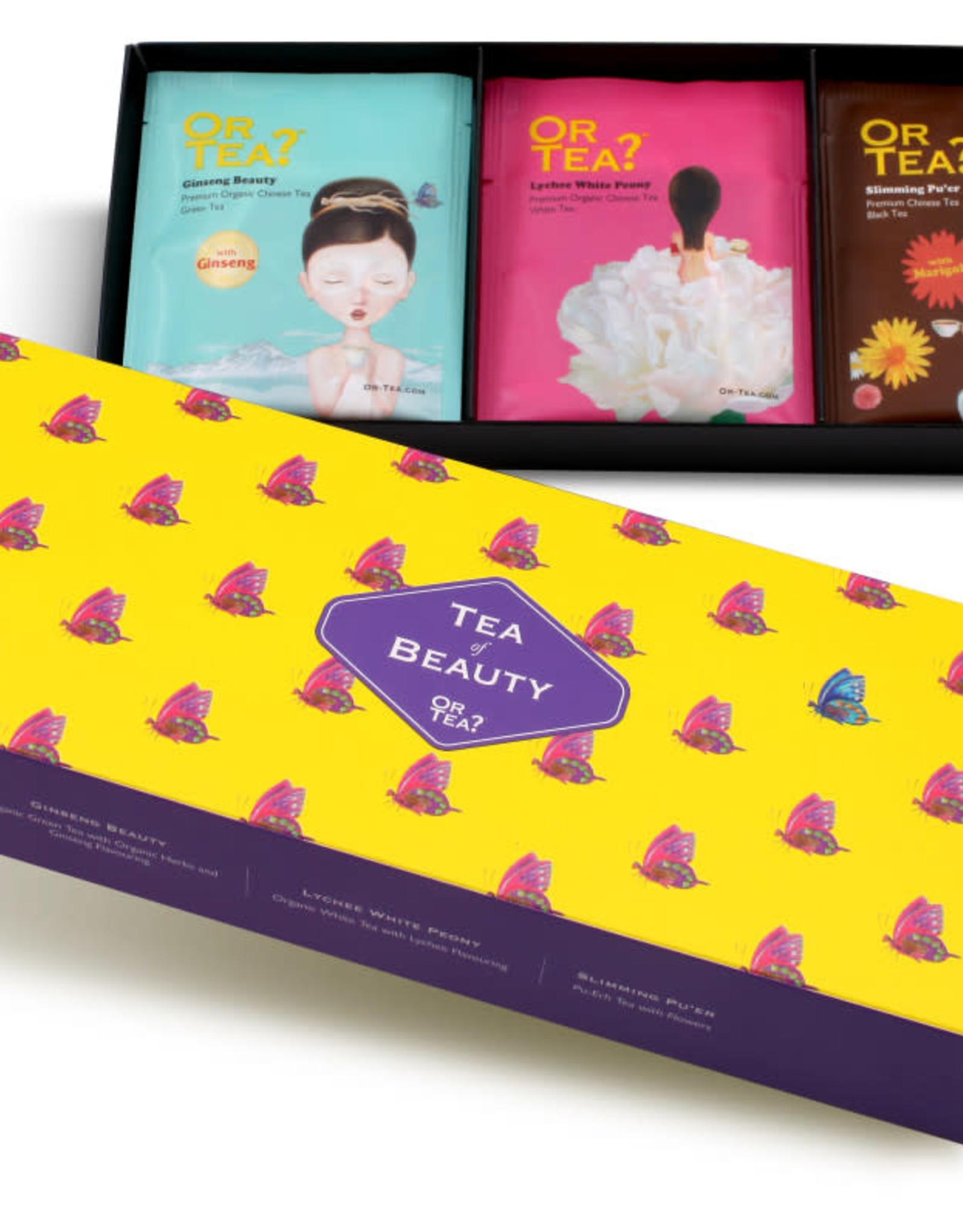 Or tea? or tea? 3-in-1 sachet combo - Tea of Beauty