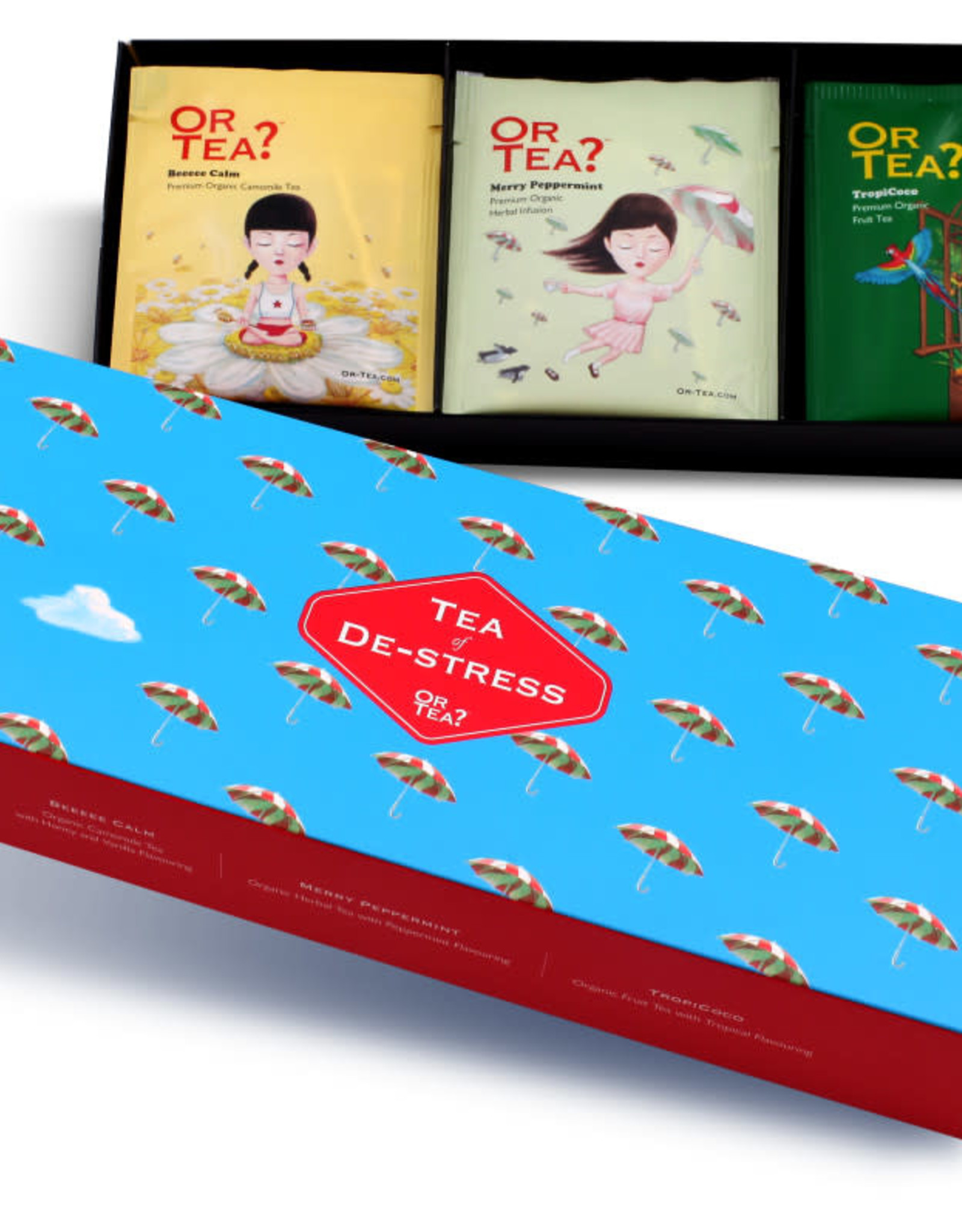 Or tea? or tea? 3-in-1 sachet combo - Tea of DE-Stress