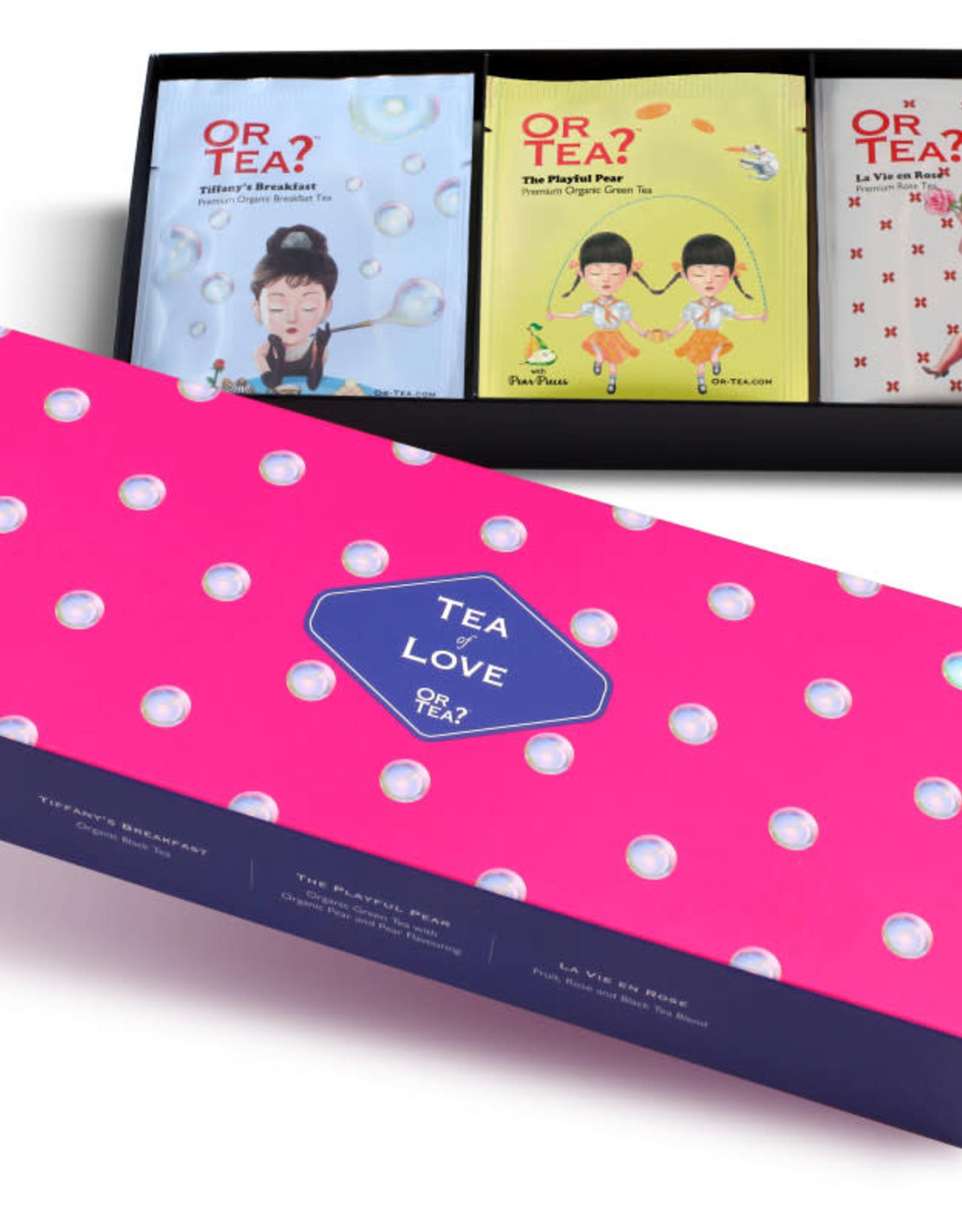 Or tea? or tea? 3-in-1 sachet combo - Tea of Love