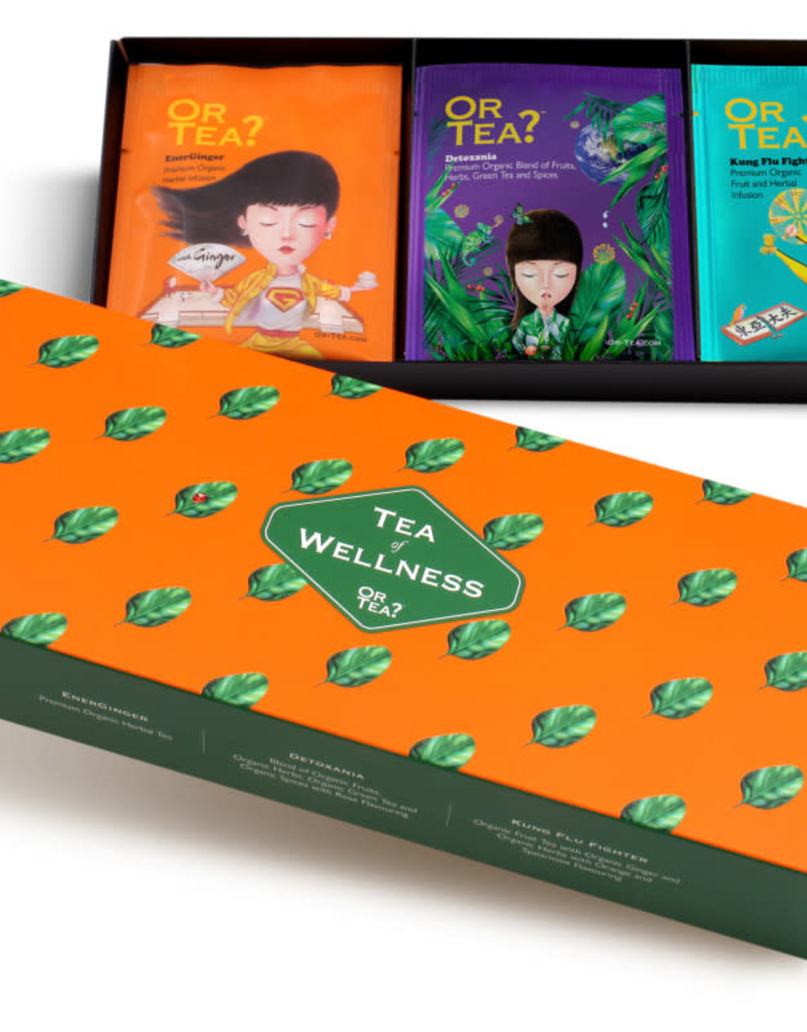 Or tea? or tea? 3-in-1 sachet combo - Tea of Wellness
