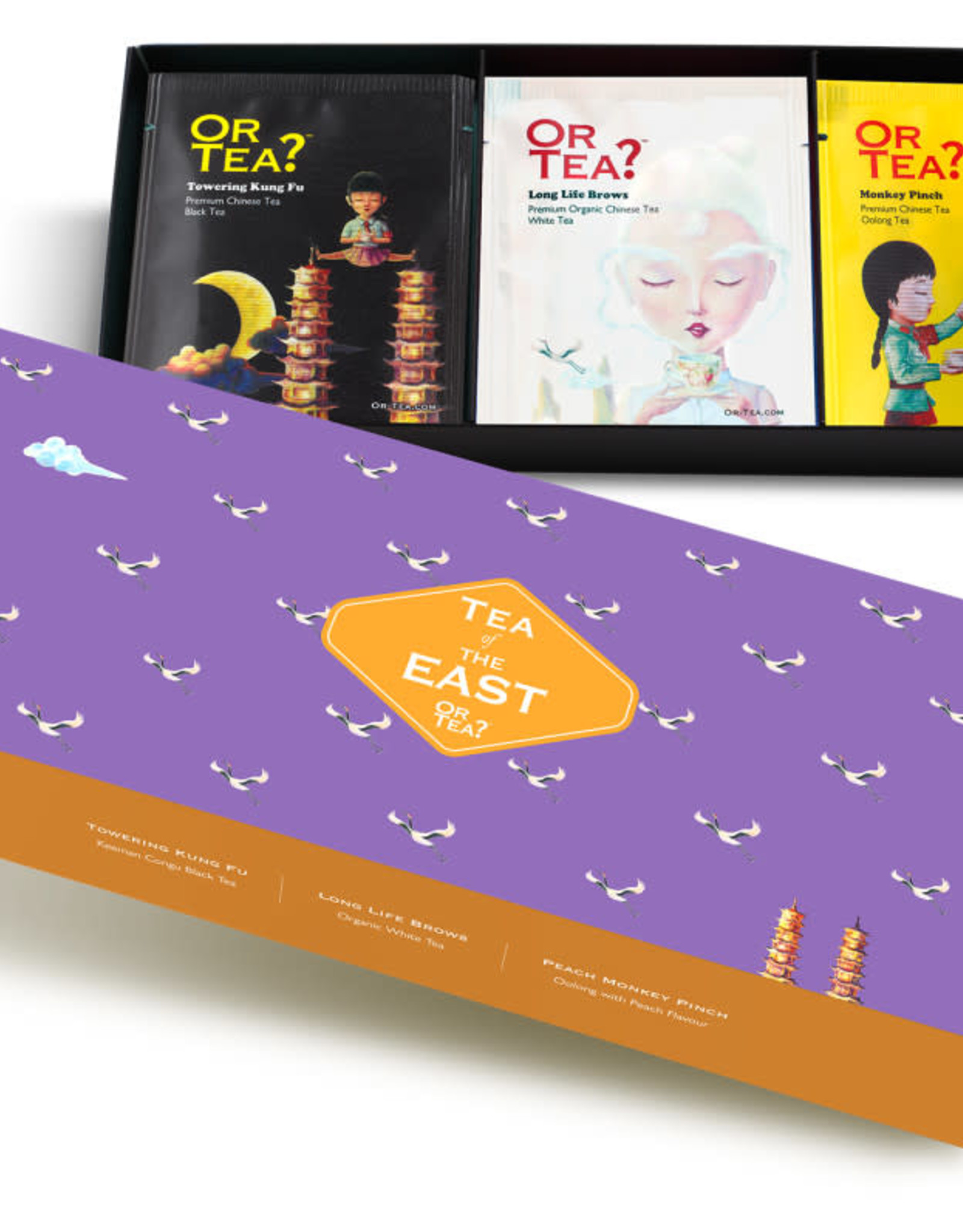 Or tea? or tea? 3-in-1 sachet combo - Tea of the east
