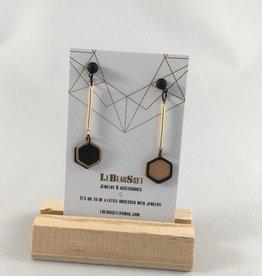 Lebeausset Lebeausset 096 hangers goudkleurig en zwart