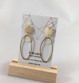 Lebeausset Lebeausset 102 hangers goudkleurig  en wit