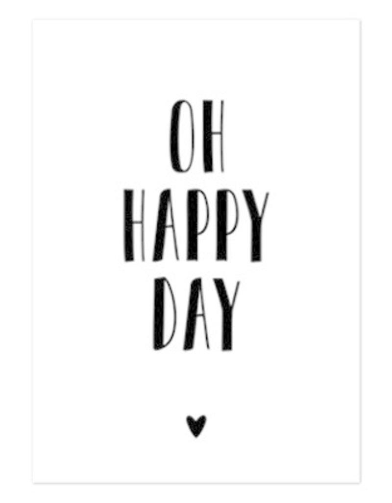 Hofje van Kieka kaart a6 Hofje van Kieka Oh happy day