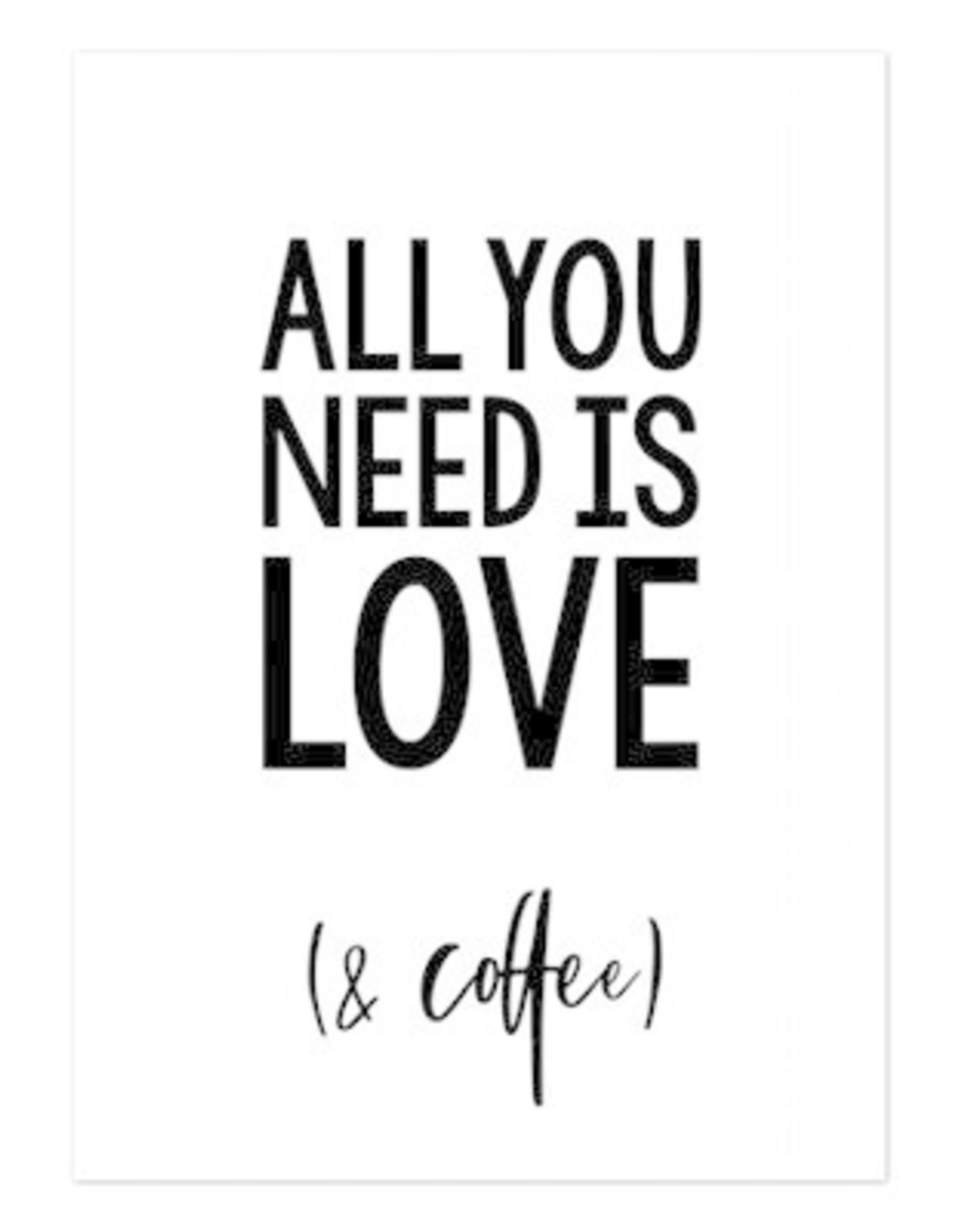 Hofje van Kieka kaart a6 Hofje van Kieka All you need is love (& coffee)