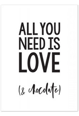 Hofje van Kieka kaart a6 Hofje van Kieka All you need is love (& chocolate)