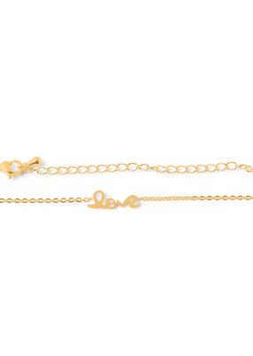 Birambi Birambi armbandje love goud