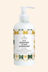 the gift label The gift label: hand lotion 250 ml It is a good day to have a good day - High summer