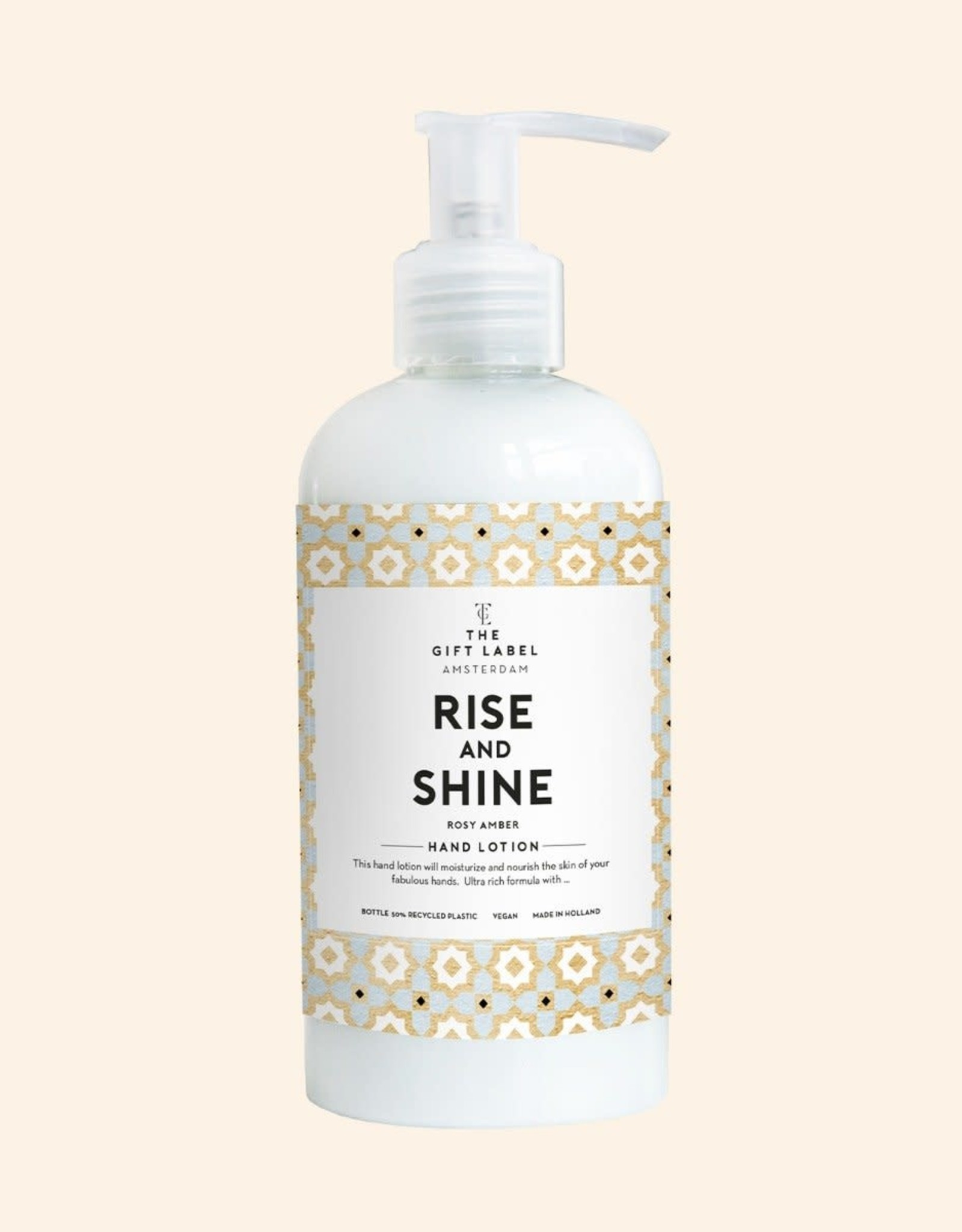 the gift label The gift label: hand lotion 250 ml Rise and shine - High summer
