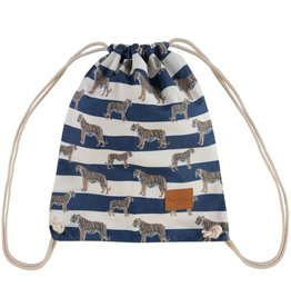 By lauren Amsterdam By Lauren Amsterdam tigers and stripes navy backpack