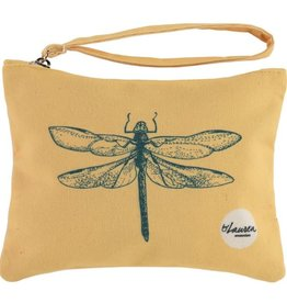By lauren Amsterdam By Lauren Amsterdam dragonfly sunny yellow clutch