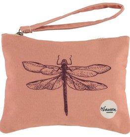 By lauren Amsterdam By Lauren Amsterdam dragonfly vintage pink clutch