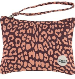 By lauren Amsterdam By Lauren Amsterdam leopard only burghundy clutch