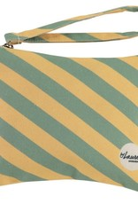 By lauren Amsterdam By Lauren Amsterdam we are stripes sunny yellow minty clutch