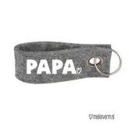 Miek in vorm Miek in vorm sleutelhanger Papa
