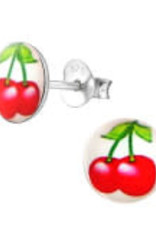 Precious jewels Precious jewels: oorstekers kersjes