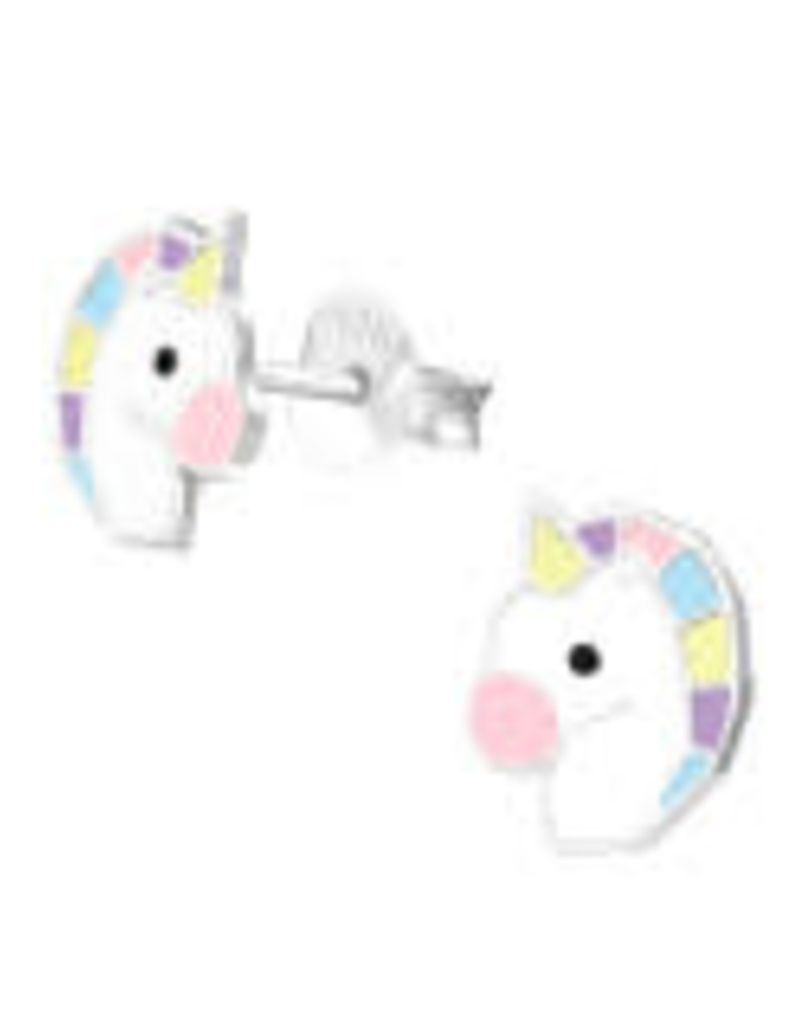 Precious jewels Precious jewels: oorstekers unicorn hoofd