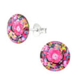 Precious jewels Precious jewels: oorstekers bloemetjes 01