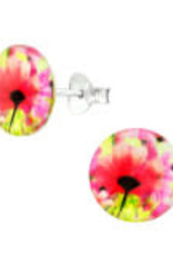 Precious jewels Precious jewels: oorstekers bloemetjes 02